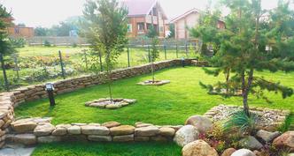 Ландшафтный дизайн загородного участка 10 соток в Барвихе