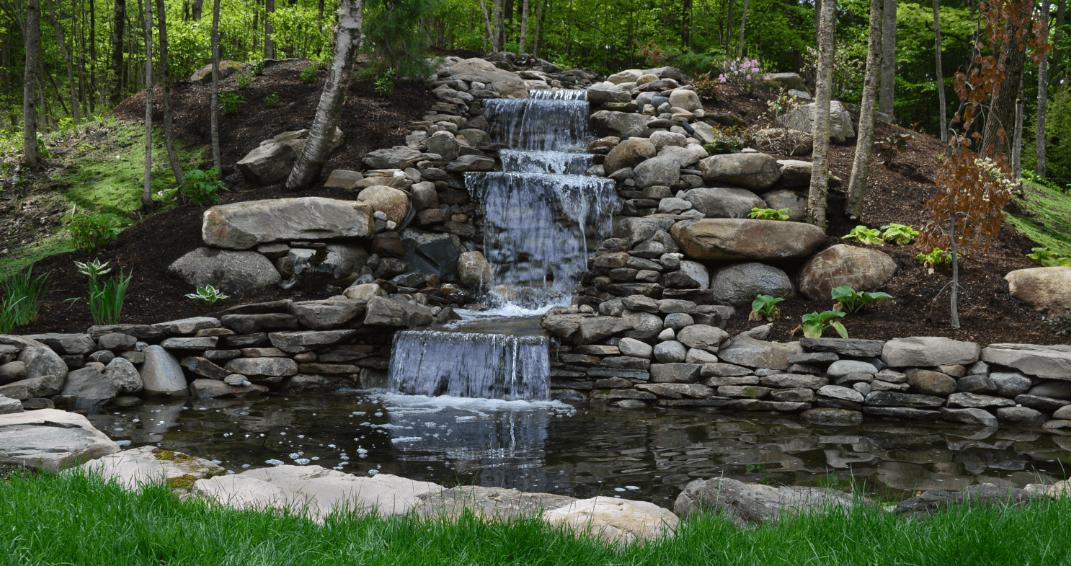 водопады для дачи фото