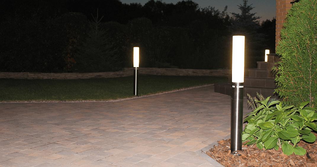 Подсветка садовых дорожек фото steinel gl 60